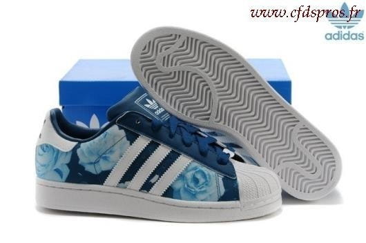 adidas superstar bleu paillette