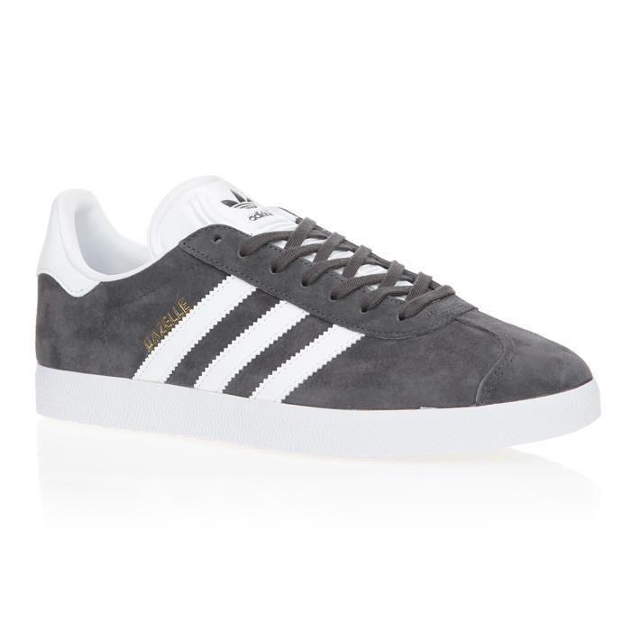 Adidas Basket # superstar fashion j by8883 gris noir Gris